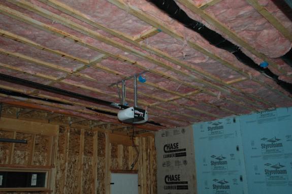 Garage Ceiling Insulation