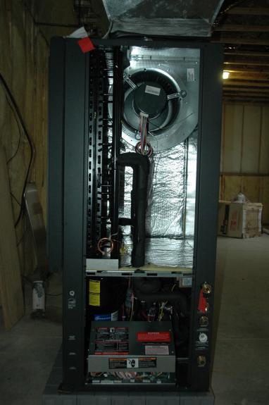 Geothermal Heat Pump Middleton Green Home